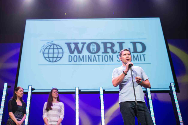 Brandon Sutton at World Domination Summit